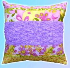 Texture Magic Pillow Pattern Easy Quilting Project Sheet Cut Loose Press