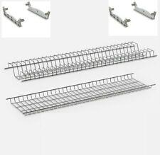 Scolapiatti incasso in metallo - per pensili da 60 - 80 - 90 cm