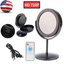 Black HD 720P Mini DVR Home Mirror SPY Hidden Camera Video Motion Detection