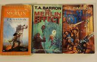 Lot Of 3 T.A. Barron Books