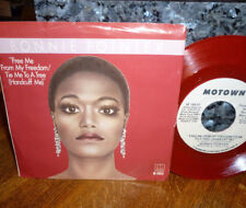 """*<* RED VINYL PROMO """"FREE ME FROM MY FREEDOM"""" BONNIE POINTER 45 w/PICTURE SLEEVE"""