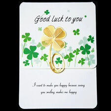 Beautiful Four-leaf Clover Reading Metal Clip Bookmark Gift Book Mark Of Kids