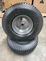 (2) 13X5.00-6 Tube Type Tires 2 Ply