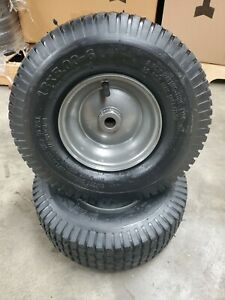 (2) 13X5.00-6 Tube Type Tires 2 Ply