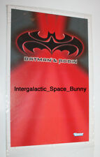 1997 Kenner Batman & Robin Proof Card (Front) Prototype