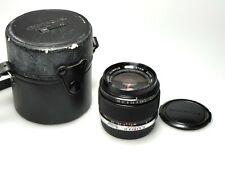 Olympus MC Auto-W Zuiko 28mm F/2 + Case