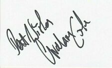 "Graham Cole signed 5"" x 3"" card -  Doctor Who - The Bill - SC28"