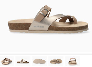 Mephisto Nalia Light Taupe Comfort Sandal Women's sizes 35-42 NEW!!!