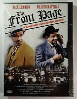The Front Page: Jack Lemmon Walter Matthau Brand New DVD Snap Case FREE SHIPPING