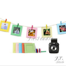 Creative Wall Decor Hanging Square Film Frame for Fujifilm Instax Mini SQ Camera