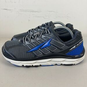 Altra Provision 3.0 Mens Running Shoes US 8.5 Black Grey Blue Free Postage