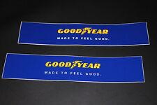 Goodyear Aufkleber Sticker Decal Kleber Logo Schriftzug Bapperl Autocollant kl