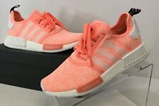 Adidas NMD R1 BY3034 Sunglo/White/Hazcor(Peach Pink) Runner Women's Sz 8.5 M