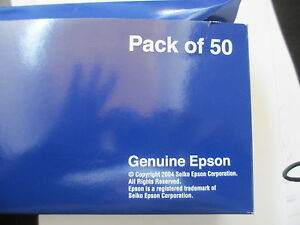 Big XL Pack 50 X Original Epson ERC-05B Ribbon Colour Ribbon Genuine HX-150 -160