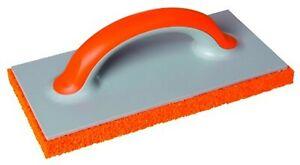18mm Orange Rubber Sponge Float Trowel 280mm Coarse Rough, Rendering Plastering