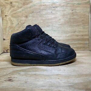 Nike Air Python Premium (705066-001) Shoes, Men's Size 11, Black