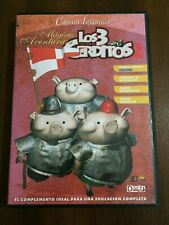 CUENTOS INFANTILES MAGICAS AVENTURAS LOS 3 CERDITOS CD ROM - JUEGO EDUCATIVO PC