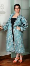"57.87"" x 43.31"" Dress Uzbek Robe VINTAGE FAST Shipment With UPS 11380"