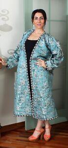"57.87"" x 43.31"" Dress Uzbek Robe VINTAGE FAST Shipment With UPS 11380"