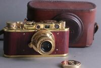 🔥LEICA II(D)🔥Ernst Leitz Wetzlar WWII Vintage Soviet 35mm Art Camera /FED copy