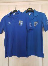 Gillingham Football Polo Shirt - Size Medium x 2