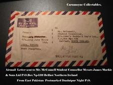 Par avion lettre envoyée à M. McConnell-James Mackie & Sons Ltd Belfast.AH0414.