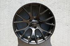 4 Wheels 20 inch Matt Black Rims fits DODGE CHARGER SRT HELLCAT 2005 - 2018