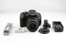 Canon EOS 600D mit Kit Objektiv Canon EF-S 18-55mm IS II DSLR Shuttercount 22k
