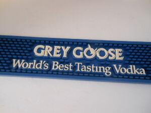 "Grey Goose  ""WORLD'S BEST TASTING VODKA"" Bar Mat"