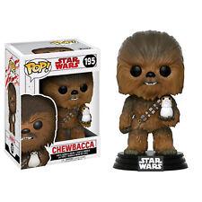 Star Wars - Chewbacca with Porg Episode VIII The Last Jedi Pop! Vinyl