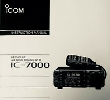 ICOM IC-7000 HF/VHF/UHF All Mode Radio Transceiver