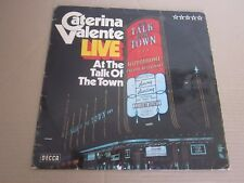 CATERINA VALENTE ..LIVE AT THE TALK OF THE TOWN ..PRINTED IN ALLEMAGNE