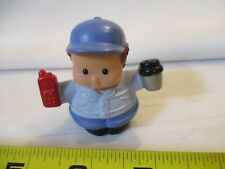 Fisher Price Little People Walmart Super Center Big Rig Driver Figure coffee cup