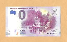 0 Euro Schein  HUNDERTWASSERHAUS WIEN.Souvenir  Banknote  Österreich  2019