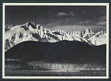 "1960's Ansel Adams ""Winter Sunrise From Lone Pine""by 5 Associates AA-103 Unused"