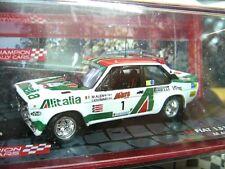 Fiat 131 Abarth Rally 1000 Lakes 1979 winner alen #1 alitalia Ixo Altaya 1:43