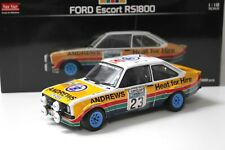1:18 Sunstar ford escor rs1800 Brooks RAC gb #23 New en Premium-modelcars