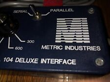 Metric Industries Serial to Parallel Deluxe Interface model 104