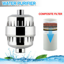 Shower Head Filter Purifier Softener For Hard Water Chlorine Removal Universal