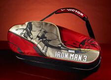 Victor TK Marvel Iron Man 12 Racket Badminton Racket Bag Limited edition