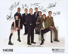 NCIS Cast Signed 8x10 Autographed Photo Reprint