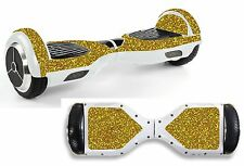 Gold Sequin Sticker/Skin Hoverboard / Balance Board Hov43
