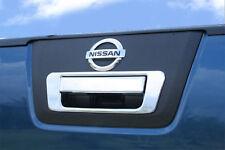 Nissan Navara D40 05 -15  Chrome Trim Rear Door Handle Cover & Rim