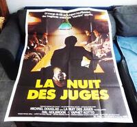 La nuit des juges - Peter HYAMS / Michael DOUGLAS - Affiche Cinéma