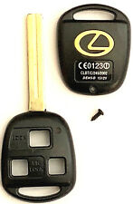 Lexus 3 Button Remote Head Key Shell TOY40 (Long) with LOGO Top Quality