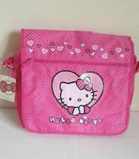Rare Sanrio Hello Kitty pink messenger cross body bag school bag new kawaii