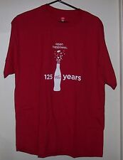 COCA - COLA OPEN HAPPINESS HANES TAGLESS L T SHIRT