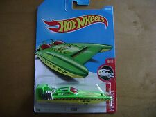 HOT WHEELS 2017 GREEN H2GO-HW RESCUE #8/10 ON  CARD#184/365