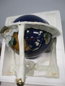 "2001 AURORA 13"" GEMSTONE DESK TABLE TOP GLOBE SEALED ~ NEW, MINT IN BOX"