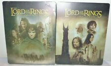 The Lord of the Rings Fellowship of the Ring & The Two Towers -Steelbook Blu-Ray